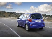 Svensk säljstart för lilla rymliga Toyota Verso-S