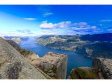 Auch populäre Ziele wie der Lysefjord haben jetzt ein Nachhaltigkeits-Zertifikat