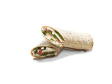 Costa's Gluten-Free British Chicken and Basil Salad Wrap