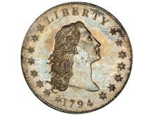 Maailman kallein raha - Flowing hair 1794