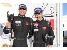 Erik Behrens-Daniel Roos, Porsche Cayman. Segrare Swedish GT, GTB. Foto: Jerker Johansson