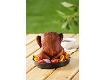 Grillform för hel kyckling!