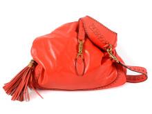 Fashionabla 21 juli, nr 1, väska, GUCCI, New Jackie Hobo Bag, rött läder