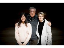 Nour El Refai, Mikael Wiehe & Edda Magnason