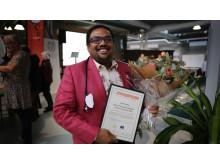 vinnaren BADAM FGP2019