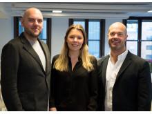 Mats Malmkvist, Robert Rehbach och Fredrika Wiktorin, Retail United
