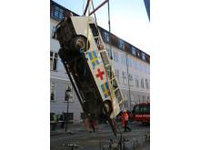 SKAK Specialtransporter prøveløfter den hvide bus
