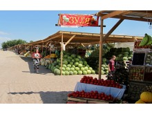 Ramblers Walking Holidays: In Search of the Silk Road - Kazakhstan Fruit Stall