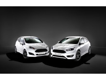 Ford Fiesta ST-Line og Ford Focus ST-Line