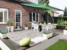 Moderner Landhausstil im Garten, auf dem Balkon oder der Terrasse