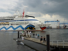 AIDA in Kiel.Sailing.City