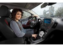 Opel Ampera och Katie Melua 2