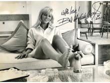 Britt Ekland, taget 1964 av italienska fotografen Pierluigi Praturlon