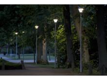 SKY Park i Linnéparken, Växjö