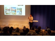 Eva Nordström, VD, konferens Bygg i tegel 170201