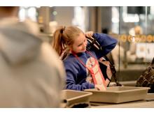 Barn som reiser alene