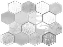 Mosaik Eventyr Den Grimme Ælling Hvid 30x30, 1.698 kr. M2.