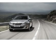 En modern sedan - nya Peugeot 308
