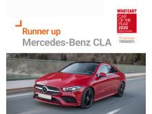 What Car? Safety Award runner up - Mercedes-Benz CLA