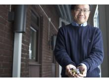 Guozhu Ye är projektledare för det nya batteriåtervinningsprojektet.