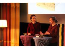 Gertrude Hellbrand i samtal med Annika Edwards