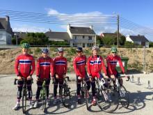 Juniorlandslaget landevei i Frankrike 2