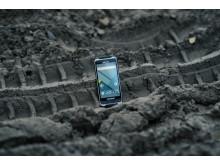 Handheld NAUTIZ X6 ultra-stryktålig phablet