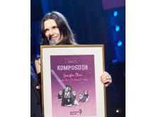 SKAP och Manifests pris till årets kompositör Josefin Öhrn.
