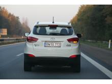 Hyundai ix35 FCEV Hydrogen bak