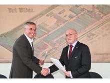 Kooperationsvereinbarung mit dem Oberstufenzentrum Recht Berlin unterzeichnet