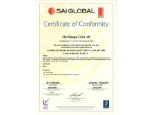BRC-certifikat 2010