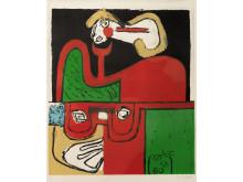 Portrait, 1960, Le Corbusier, ©FLC/BONO, Oslo kommunes kunstsamling.