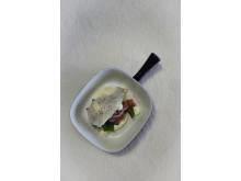 Tartar of lamb, Easter menu 2015 in the Slip