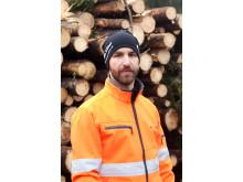 Jimmy Persson, maskininstruktör på Burträsk Naturbruksgymnasium