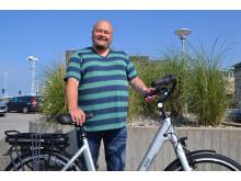 Patrik Lind Osburg, Helsingborg, vann en elcykel.