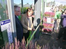 Klima- og miljøminister Tine Sundtoft åpnet Norges grønneste butikk.