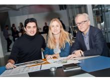 Liljewall arkitekters projektteam