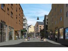 Kiruna nya centrum, kvarter 7, 8, 9