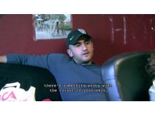 Genklang (2012), Behzad Khosravi, René Léon Rosales, 30 min, dokumentärfilm