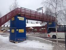Vasaloppet har köpt in en gångbro som är tillverkad i limträ av Moeleven Töreboda