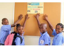 Schulstart in SOS-Schulen nach Ebola