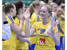 Felicia Forsmark vann guld i U19-VM i våras.