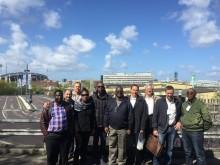 Zambiska energibolaget Copperbelt Energy Corporations besök i Göteborg