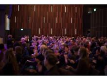 Publikapplåder i High Live 1, Mänskliga Rättighetsdagarna 2016