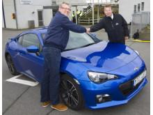 Hederspris till Subaru BRZ