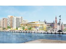 Midroc utvecklar en ny kongress- och hotellanläggning samt 160 bostäder i Helsingborgs city.