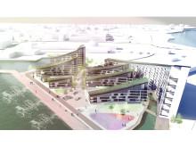 Tyréns bidrag för nytt bostadsområde Kuststad Luleå
