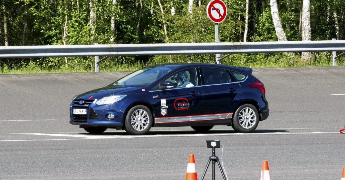 Fords Nye 1 Liters Ecoboost Motor Setter Fartsrekorder