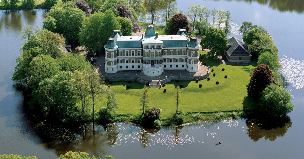 H ckeberga slott i sk ne countryside hotels sweden for Best countryside hotels