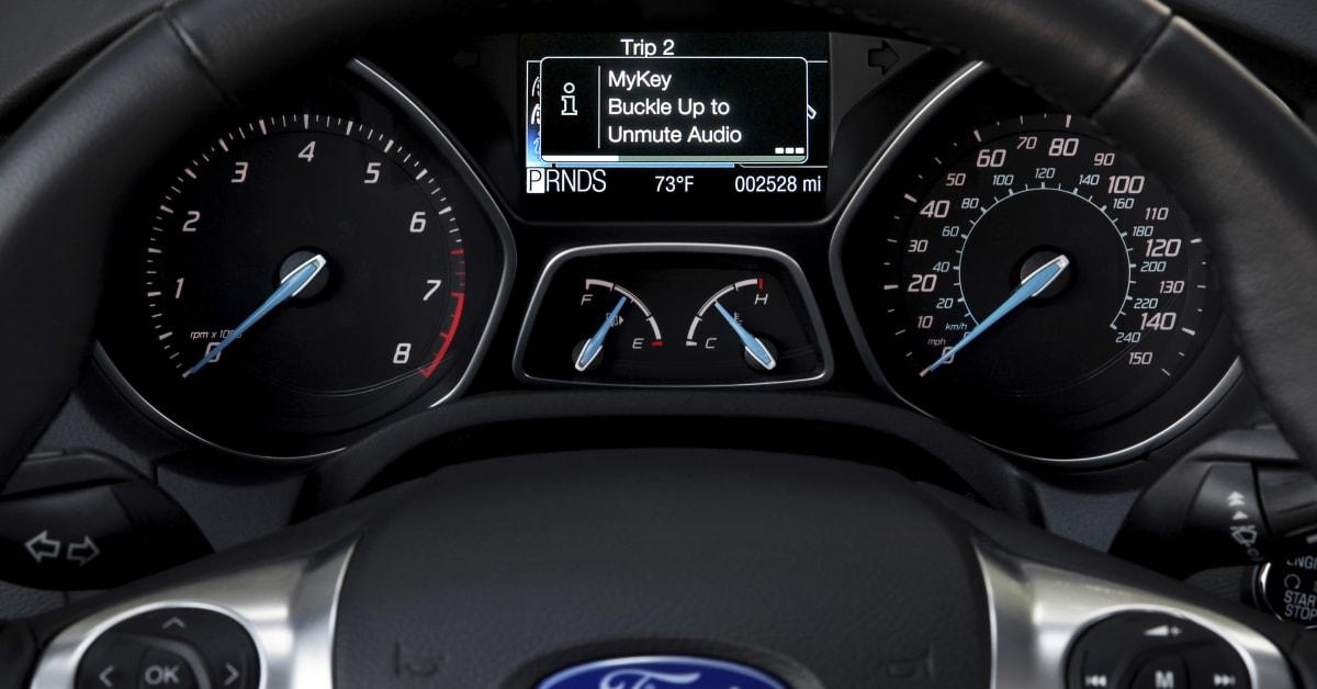 Ford My Key >> Ford MyKey kommer till Europa under 2012, ger oroliga ...